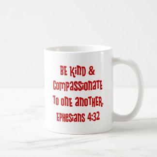 Ephesians 4:13, red coffee mug