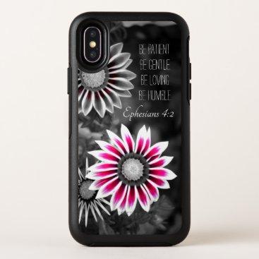 Ephesians 4:2 iPhone X Case