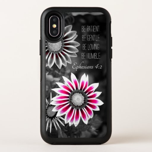 Ephesians 4:2 iPhone X Case