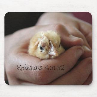 Ephesians 4:31-32 Baby Chick Mousepad