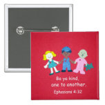 Ephesians 4:32 pinback buttons