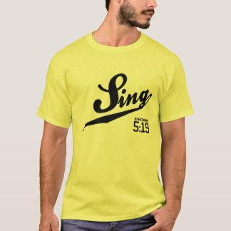 Ephesians 5:19 Sing T-Shirt