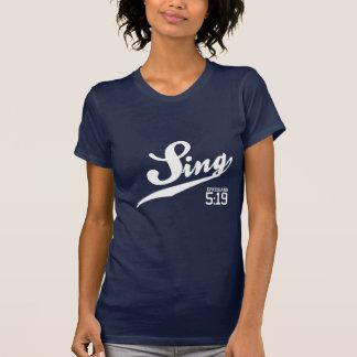 Ephesians 5:19 Sing Women's T-Shirt