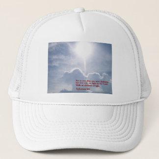 Ephesians 5:8  Clouds Trucker Hat