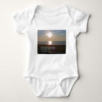 Ephesians 5:8  Sunrise Baby Bodysuit