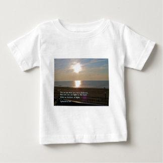 Ephesians 5:8  Sunrise Baby T-Shirt