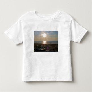 Ephesians 5:8  Sunrise Toddler T-shirt
