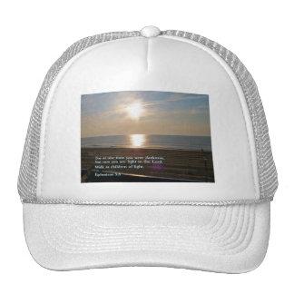 Ephesians 5:8  Sunrise Trucker Hat
