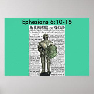 Ephesians 6:10-18 poster