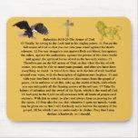 Ephesians 6:10-20 armor of GOD bible word faith Mouse Pad