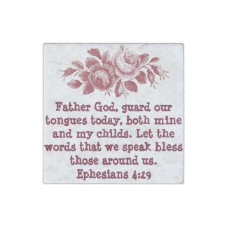 Ephesians Marble Stone Magnet