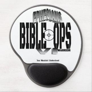 Ephesians VI  Warrior (Bible-Ops) Gel Mouse Pad