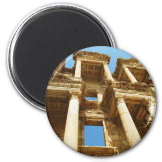 Ephesus 2 Inch Round Magnet