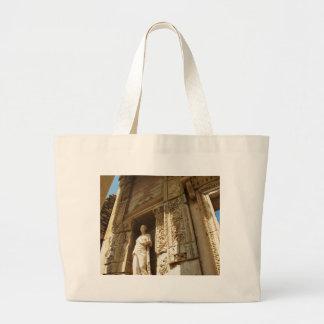 Ephesus Turquía - biblioteca cent3igrada en Ephesu Bolsa Tela Grande