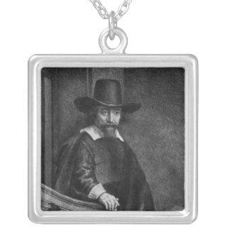 Ephraim Bonus Square Pendant Necklace