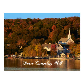 Ephraim, Wisconsin at Sunset Postcard