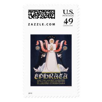 Ephrata Cloister 1938 WPA Postage