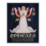 Ephrata Cloister 1938 WPA Poster