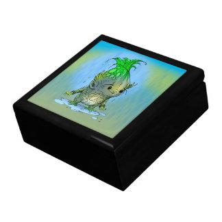 EPI CORN Large Square Tile Gift Box Gold MONSTER