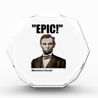 Epic Abraham Lincoln Award