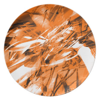 EPIC ABSTRACT d10s3 Melamine Plate