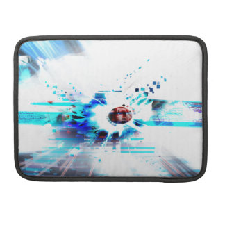EPIC ABSTRACT d1s3 Sleeve For MacBook Pro