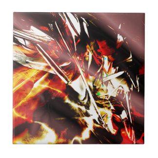 EPIC ABSTRACT d3s3 Ceramic Tile