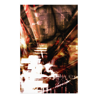 EPIC ABSTRACT d4s3 Stationery