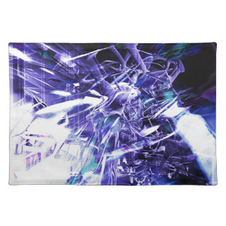 EPIC ABSTRACT d5s3 Cloth Placemat
