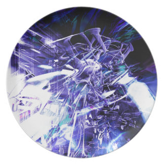 EPIC ABSTRACT d5s3 Melamine Plate