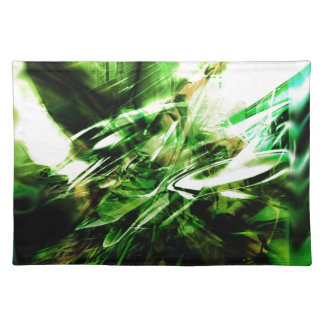 EPIC ABSTRACT d6s3 Cloth Placemat