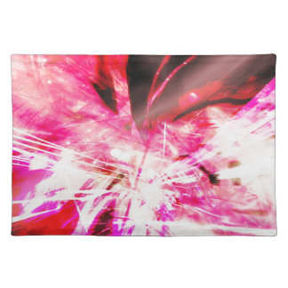 EPIC ABSTRACT d7s3 Cloth Placemat