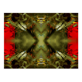 EPIC ABSTRACT ST1 TEN POSTCARD