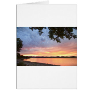 Epic August Colorado Sunset Card