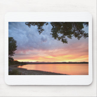 Epic August Colorado Sunset Mouse Pad