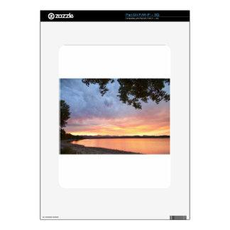 Epic August Colorado Sunset iPad Skin