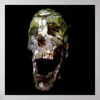 Epic Banner Coin Skull #2 Poster