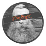 Epic beard hockey puck