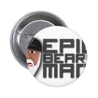 Epic Beard Man Pin