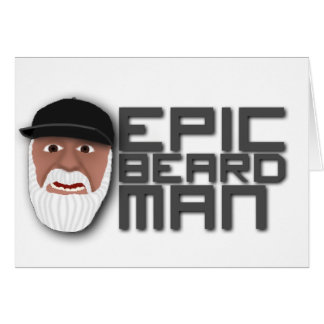 Epic Beard Man Card