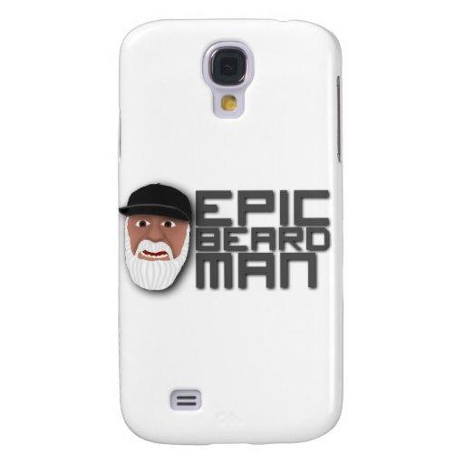 Epic Beard Man Galaxy S4 Covers