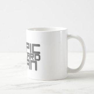Epic Beard Man Classic White Coffee Mug