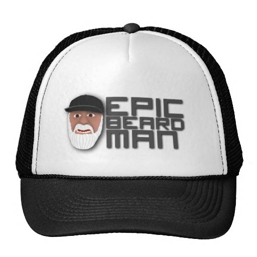 Epic Beard Man Trucker Hats