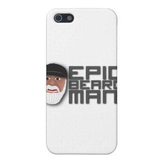 Epic Beard Man iPhone 5 Cover