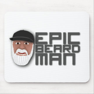 Epic Beard Man Mouse Pad