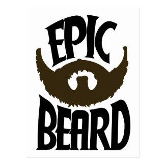 Epic Beard Postcard