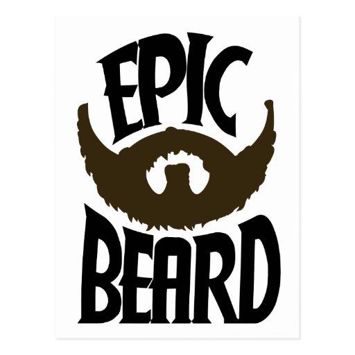 Epic Beard Post Cards