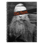 Epic beard spiral notebook