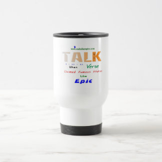 epic - big gulp 15 oz stainless steel travel mug