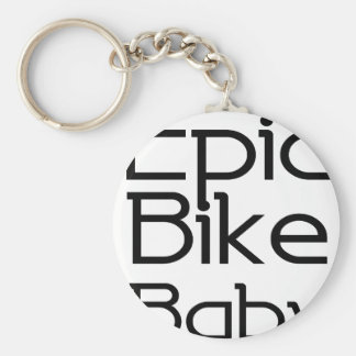 Epic Bike Baby Keychain